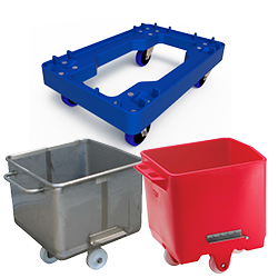 CRATES, BINS & TROLLEYS