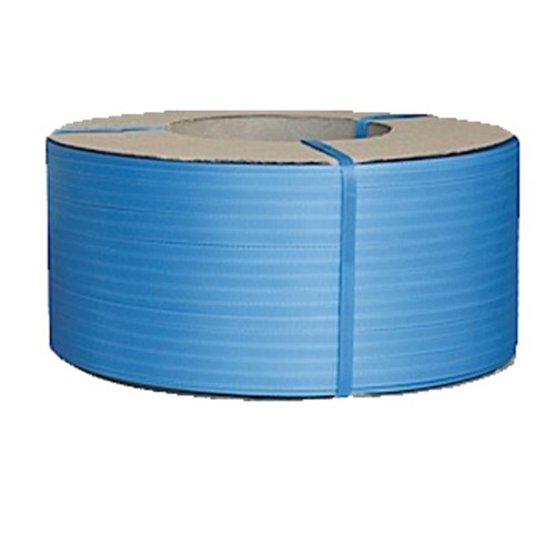 Poly Strapping Machine 12mm x 3000m Blue 0.63mm Premium