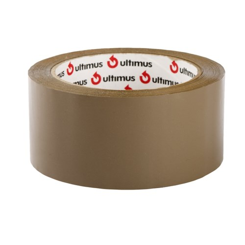 Tape Packaging 48mm x 75m Brown 45um Hot Melt Ultimus