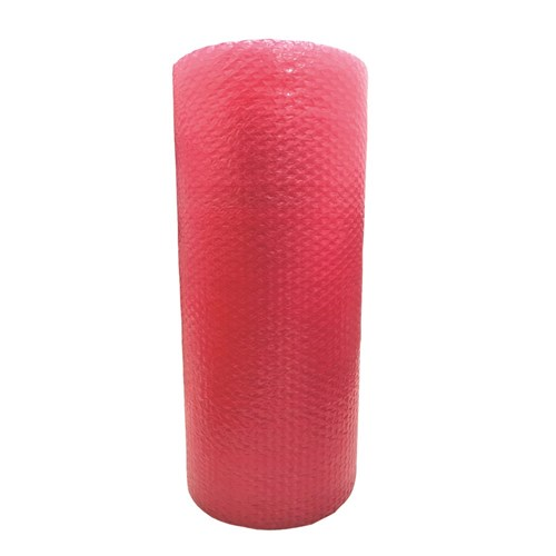 Bubble Roll 10mm 1.5m x 100m Antistatic Pink